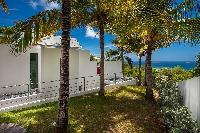 lush garden of Saint Barth Villa Nirvana holiday home, luxury vacation rental