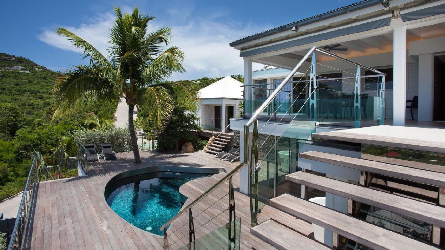 awesome Saint Barth Villa Panama holiday home, luxury vacation rental