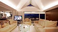 incredible ceiling of Saint Barth Villa Panama holiday home, luxury vacation rental