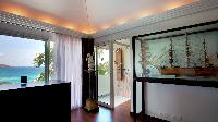 neat interiors of Saint Barth Villa Panama holiday home, luxury vacation rental
