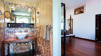 neat and trim lavatory in Saint Barth Villa Panama holiday home, luxury vacation rental