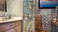 spic-and-span bathroom in Saint Barth Villa Panama holiday home, luxury vacation rental