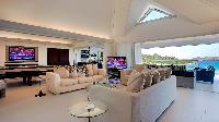 delightful living room of Saint Barth Villa Panama holiday home, luxury vacation rental