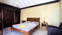clean bedroom linens in Saint Barth Villa Panama holiday home, luxury vacation rental