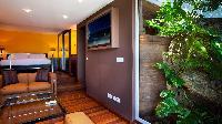 swanky bedroom in Saint Barth Villa Panama holiday home, luxury vacation rental