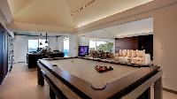 delightful dining area in Saint Barth Villa Panama holiday home, luxury vacation rental
