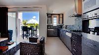 cool modern kitchen of Saint Barth Villa Panama holiday home, luxury vacation rental