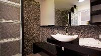 clean bathroom in Saint Barth Villa Panama holiday home, luxury vacation rental