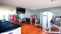 cool fitness room of Saint Barth Villa Panama holiday home, luxury vacation rental