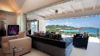 delightful sitting area in Saint Barth Villa Panama holiday home, luxury vacation rental