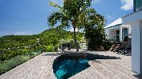 amazing pool of Saint Barth Villa Panama holiday home, luxury vacation rental