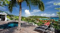 amazing sea view from Saint Barth Villa Panama holiday home, luxury vacation rental