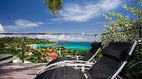 awesome sea view from Saint Barth Villa Panama holiday home, luxury vacation rental