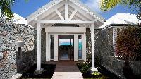pretty facade of Saint Barth Villa Panama holiday home, luxury vacation rental