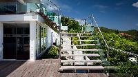 neat exterior of Saint Barth Villa Panama holiday home, luxury vacation rental