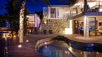 cool poolside of Saint Barth Villa Panama holiday home, luxury vacation rental