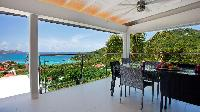 cool lanai of Saint Barth Villa Panama holiday home, luxury vacation rental