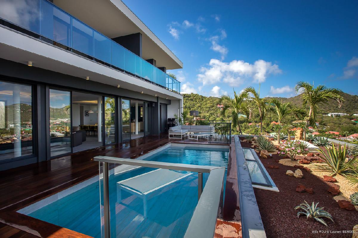 beautiful Saint Barth Villa YOU luxury holiday home, vacation rental