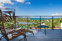 cool balcony of Saint Barth Villa YOU luxury holiday home, vacation rental