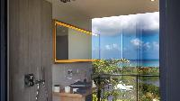 swanky bathroom in Saint Barth Villa YOU luxury holiday home, vacation rental