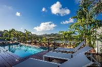 cool pool of Saint Barth Villa YOU luxury holiday home, vacation rental