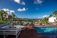 cool veranda of Saint Barth Villa YOU luxury holiday home, vacation rental