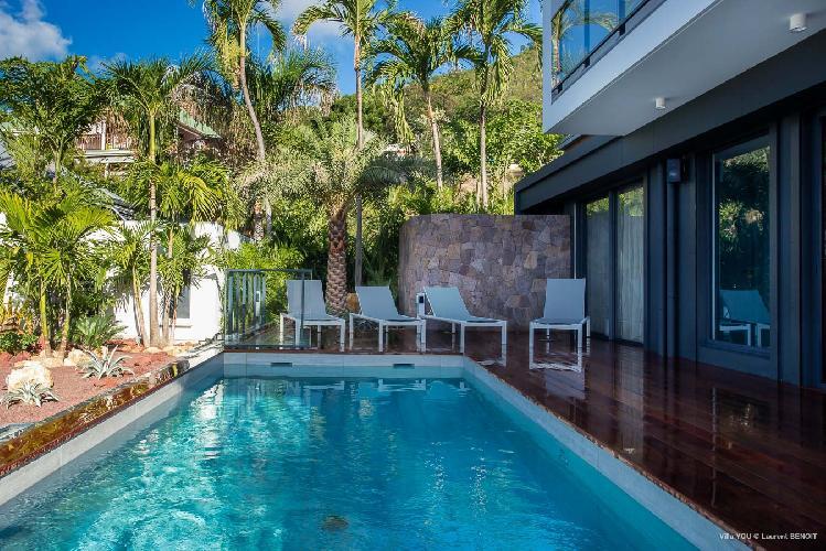 amazing pool of Saint Barth Villa YOU luxury holiday home, vacation rental