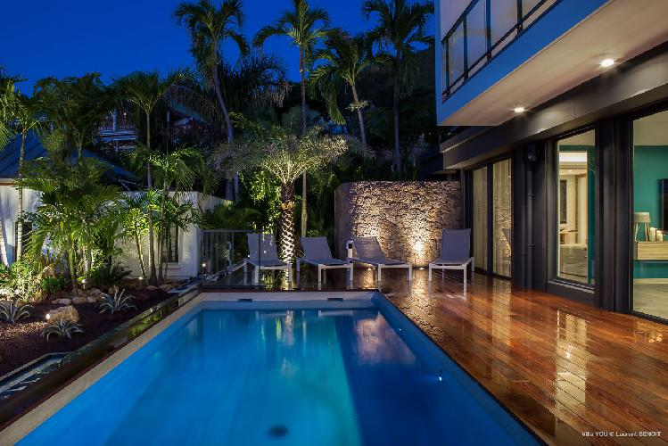 awesome pool of Saint Barth Villa YOU luxury holiday home, vacation rental
