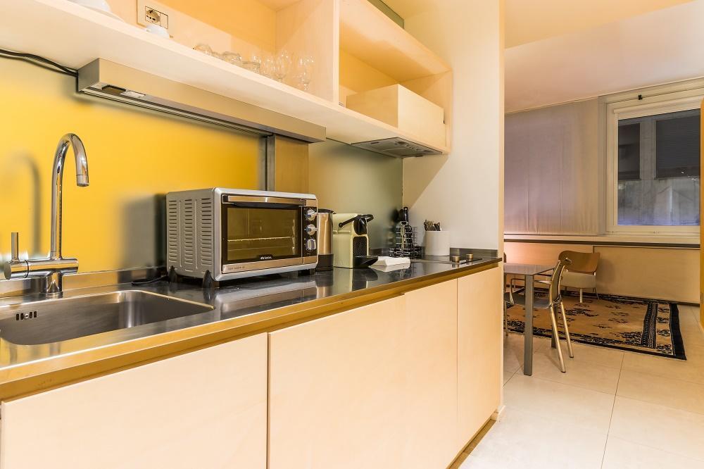 fully furnished Milan - Modern Loft S luxury apartment
