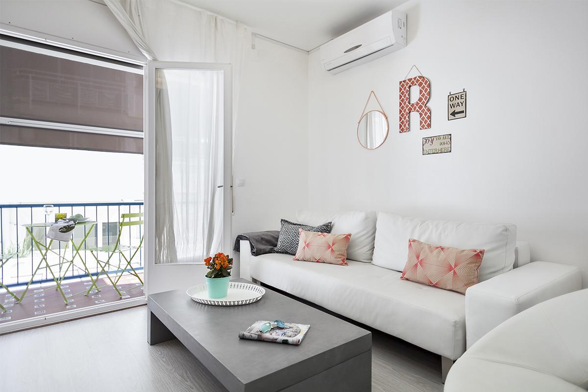 cool Sitges Carrer Bonaire - Blue luxury apartment