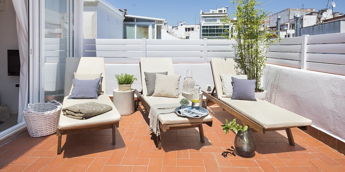 Sitges Carrer Bonaire - Blue & White Penthouse 1