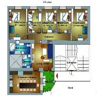 neat layout of Budapest Dream Grand Apartment DANUBE luxury holiday home