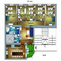 nice layout of Budapest Dream Grand Apartment DANUBE luxury holiday home