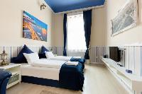 nice windows of Budapest Dream Grand Apartment DANUBE luxury holiday home