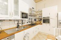 cool modern kitchen of Budapest Dream Grand Apartment DANUBE luxury holiday home