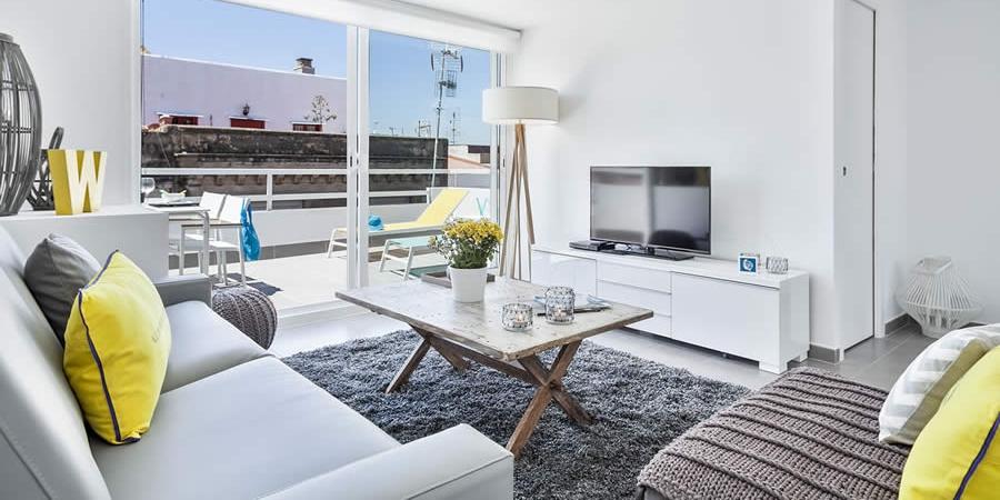 Sitges Carrer Bonaire -  Blue & White Penthouse 2