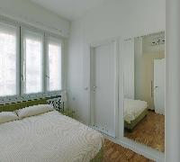 fresh and clean bedroom linens in Milan - Pergolesi Apartment 301345 luxury home