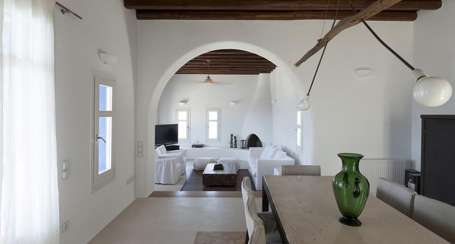 charming Mykonos Villa Rhea luxury holiday home and vacation rental