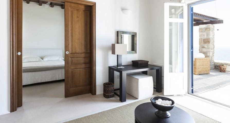 beautiful Mykonos Villa Rhea luxury holiday home and vacation rental