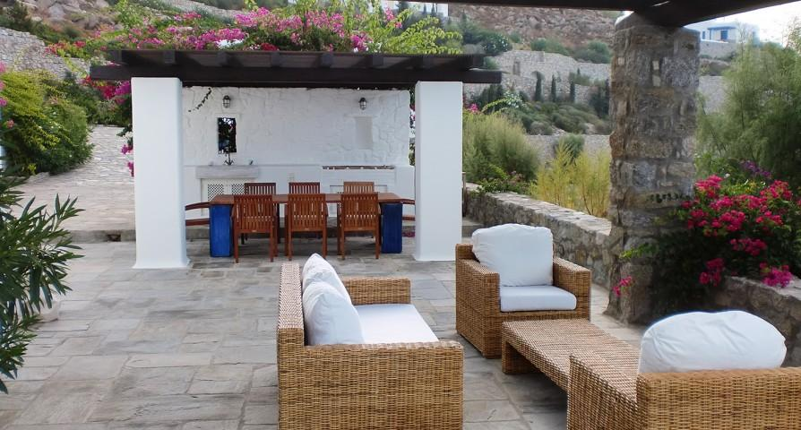 amazing Mykonos Villa Rhea luxury holiday home and vacation rental