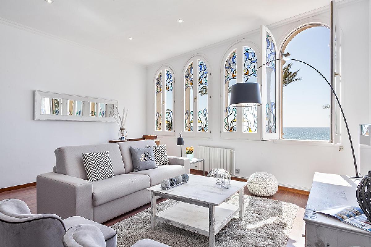 neat Sitges Passeig de la Ribera - Ocean Front 2 luxury apartment