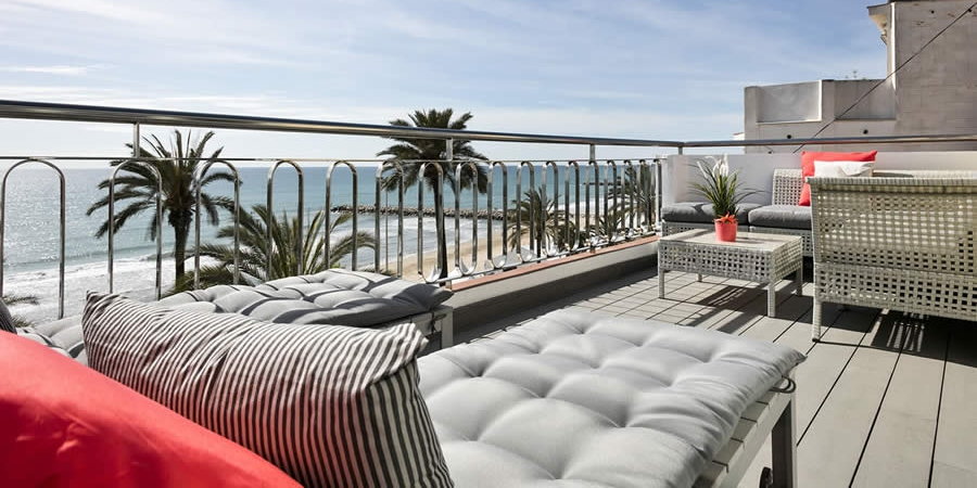 Sitges Passeig de la Ribera - Ocean Front Penthouse