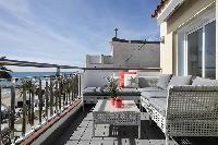 beautiful Sitges Passeig de la Ribera - Ocean Front Penthouse luxury apartment