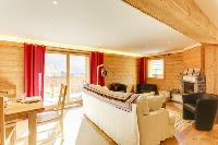 sunny and airy Champery's Village chalet, luxury apartment, holiday home, vacation rental