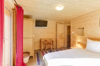 pristine bed sheets in Champery's Village chalet, luxury apartment, holiday home, vacation rental