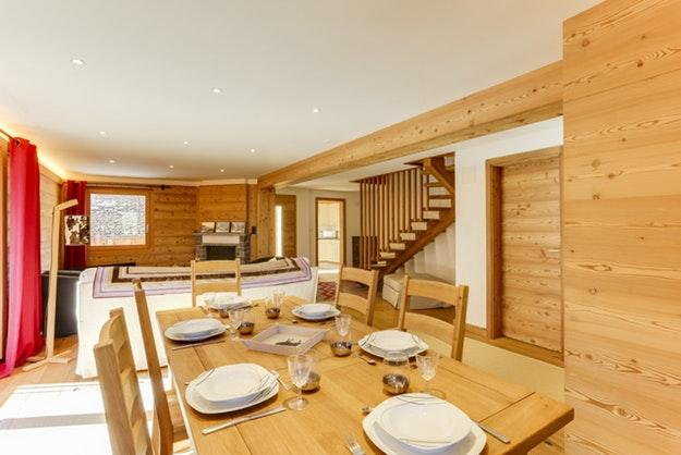 well-appointed Champery's Village chalet, luxury apartment, holiday home, vacation rental