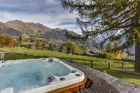 cool whirlpool of Chalet Saint Christophe luxury apartment, holiday home, vacation rental