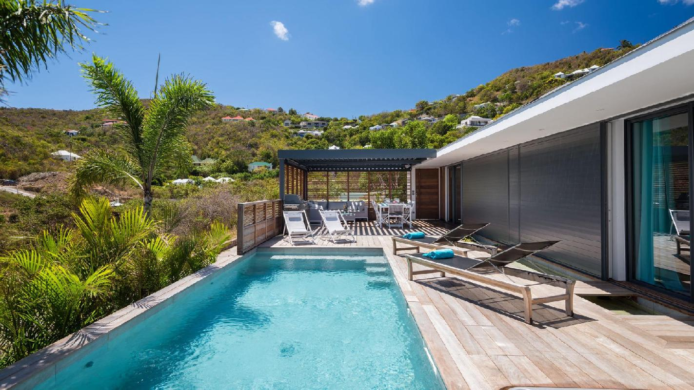 beautiful Saint Barth Villa Starfish luxury holiday home, vacation rental