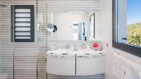 spic-and-span bathroom in Saint Barth Villa Starfish luxury holiday home, vacation rental