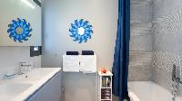 neat bathroom with tub in Saint Barth Villa Starfish luxury holiday home, vacation rental